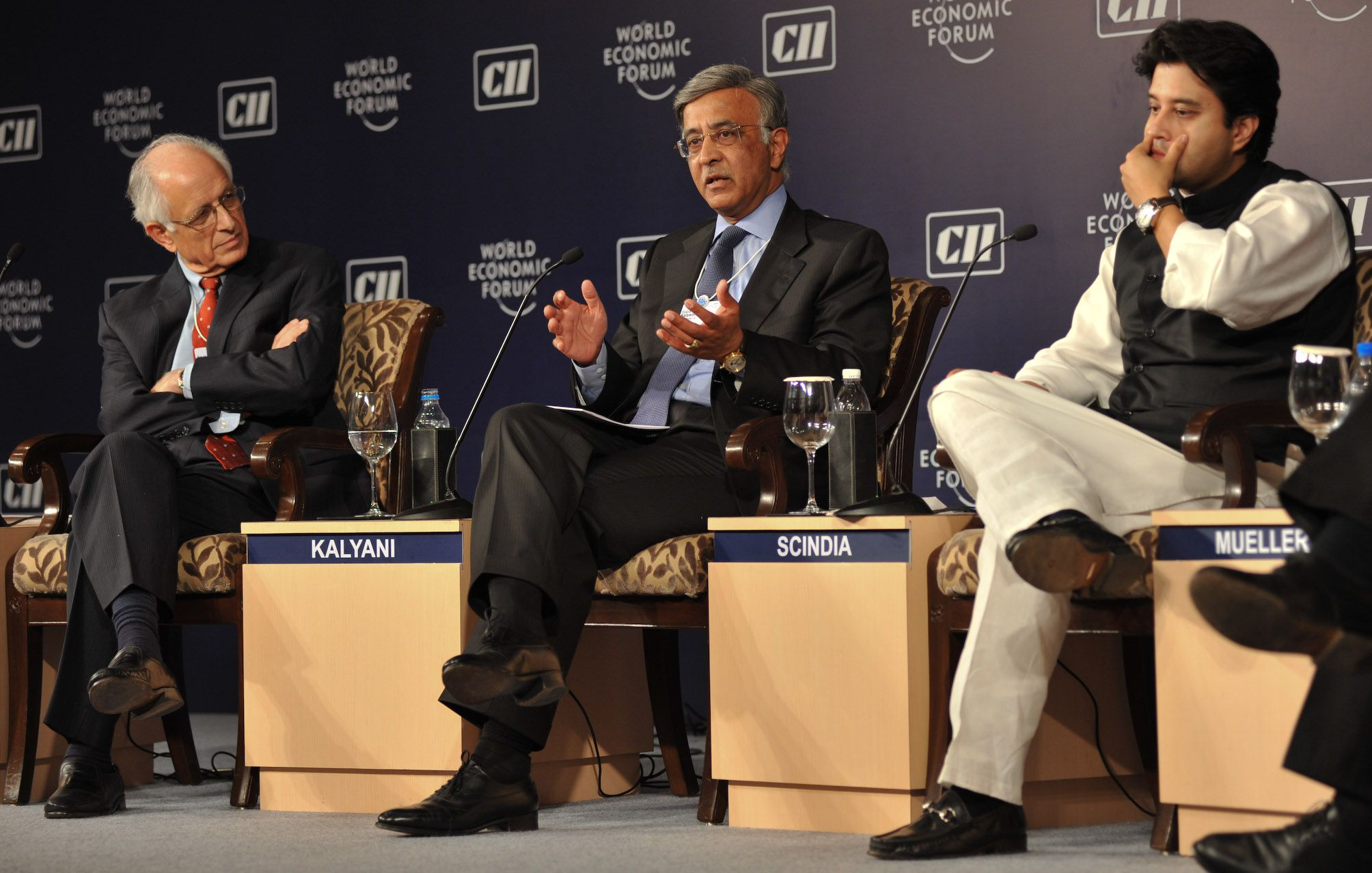 World Economic Forum's India Economic Summit, November 2009