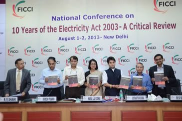 FICCI National Conference On 10 Years Of Electricity Act, August 2013