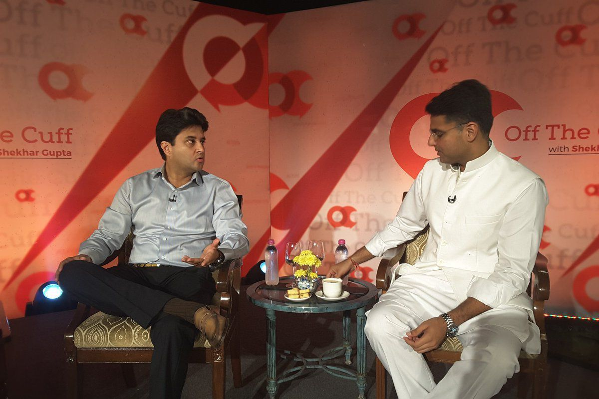 Off The Cuff with Shekhar Gupta and Sachin Pilot, October 2017