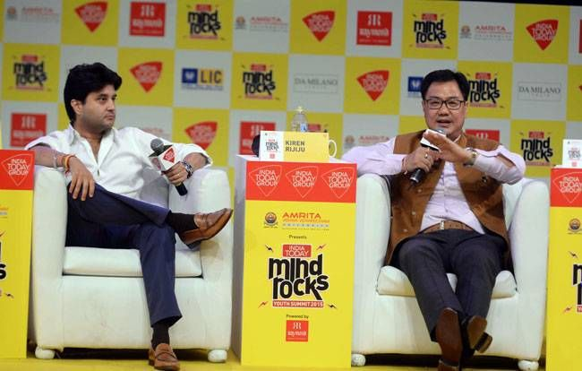 India Today Mind Rocks Youth Summit, November 2015